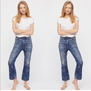 Citizens of Humanity high rise ankle flare jeans26